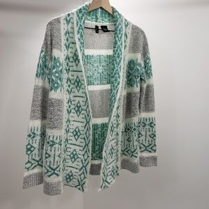 Full Tilt Womens Long Sleeve Cardigan Sweater Sz S